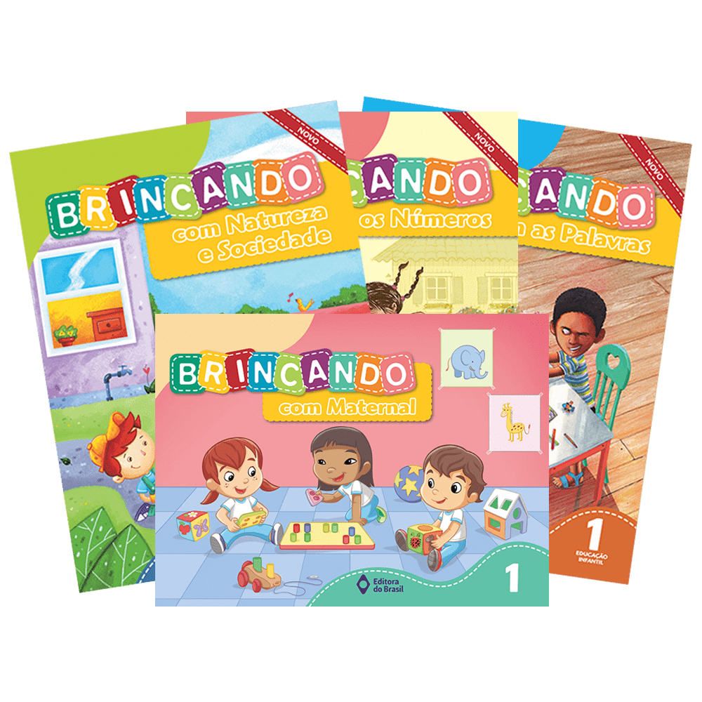 Brincando Com – Seriado: Maternal, Palavras, Números, Natureza e Sociedade